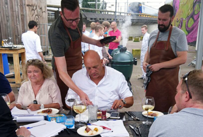 Barbecue contest Francois Geurds